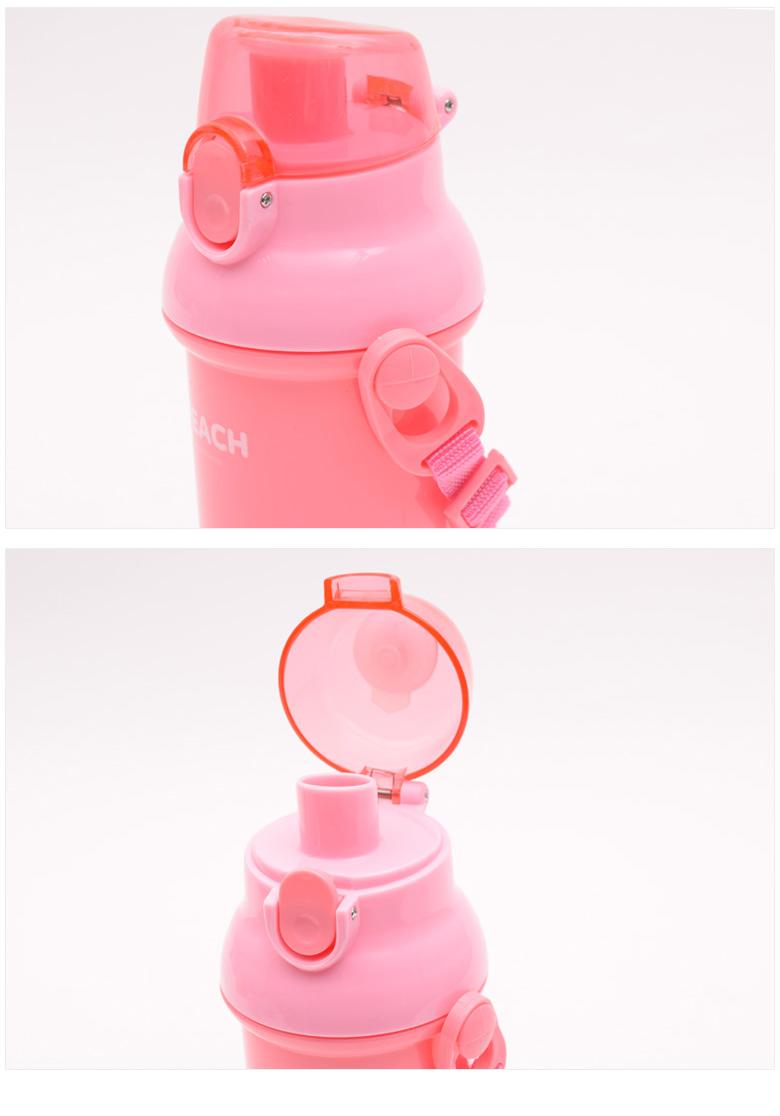 카카오프렌즈 원터치 어깨끈 물통 어피치 - 베리샵, 9,500원, 보틀/텀블러, 보틀
